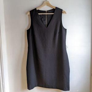 MANGO Black sleeveless dress